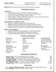 Sample Resume Objectives For Training Specialist by Employment Quest Course
