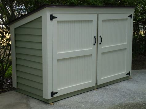Small Backyard Storage Sheds