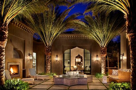Moroccan Style Decor In Your Home by Moroccan Patios Courtyards Ideas Photos Decor And