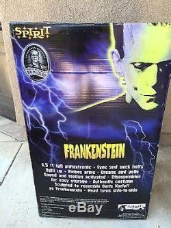 life size gemmy halloween frankenstein universal prop