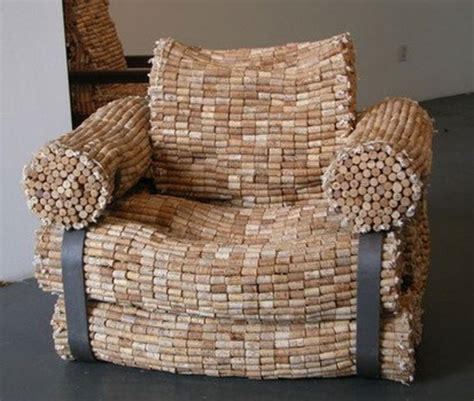 recycling office furniture how to recycle recycled wine cork