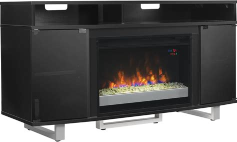 International Electric Fireplace by Classicflame Black Enterprise Lite Tv Stand With 26