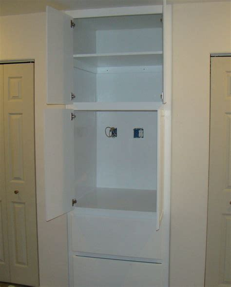 bathroom storage and vanity cabinet and a built in storage