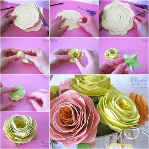 How Can I Make Paper Flowers - rolled paper flowers pictures photos and images