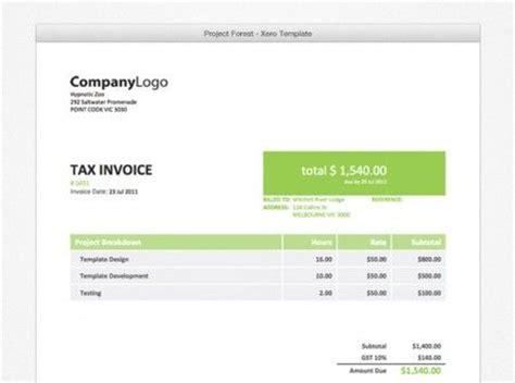 xero invoice template xero invoice template invoice sle template