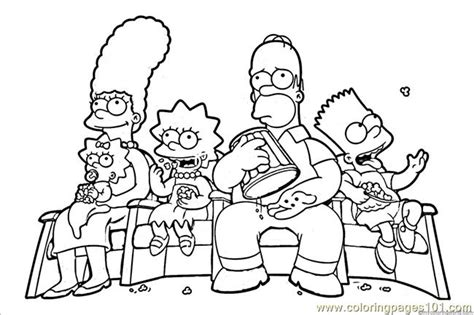 coloring pages of the simpsons christmas 12 coloring pages of simpsons print color craft