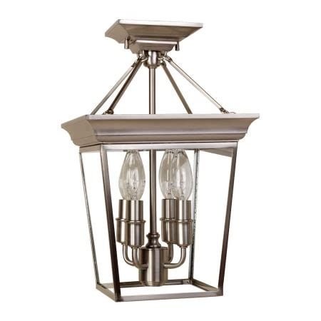 forest hill ceiling fan dvi lighting dvp1004ch chrome with clear glass 4 light
