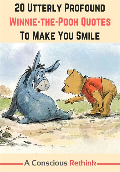 utterly profound winnie  pooh quotes    smile