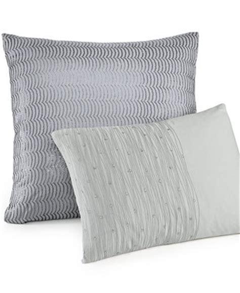 calvin klein bed pillows calvin klein twilight 18 quot square decorative pillow