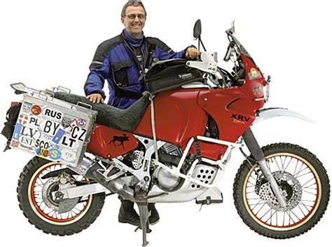 Honda Motorrad Xrv 750 Tuning Shop by Leserbike Honda Xrv 750 Afrikatwin Tourenfahrer