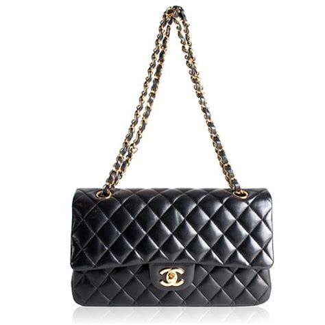 Chanel Quilt Bag by Chanel Classic 2 55 Quilted Lambskin Leather Medium Flap