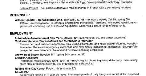 resume format resume for mlt students