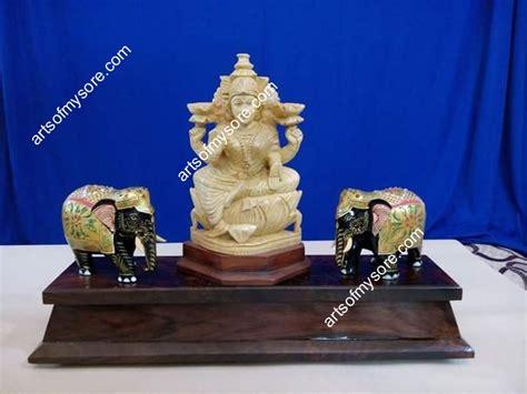 Ganesha 12 Goldplate arts of mysore ganesha and krishna idols