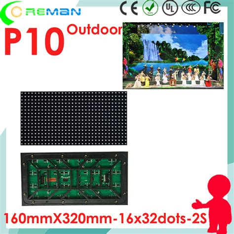 Dijamin Modul Led Panel P4 75 Indoor Merah 30 4cm X 7 6cm popular p10 led module price buy cheap p10 led module price lots from china p10 led module price