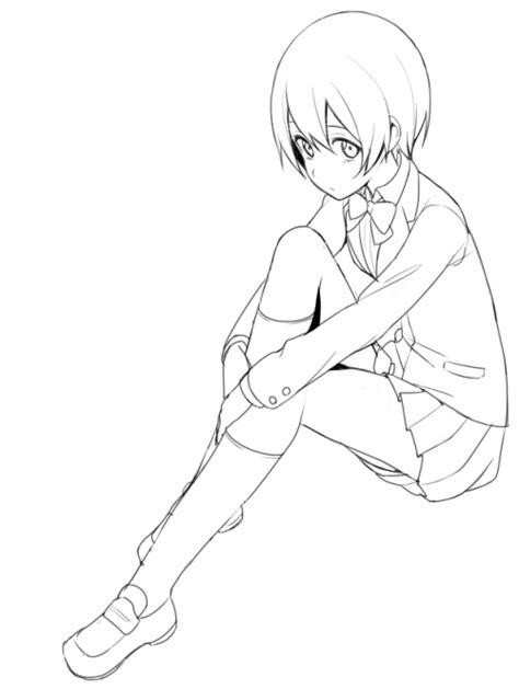 imagenes tumblr para colorear imagenes chicas animes para colorear taringa