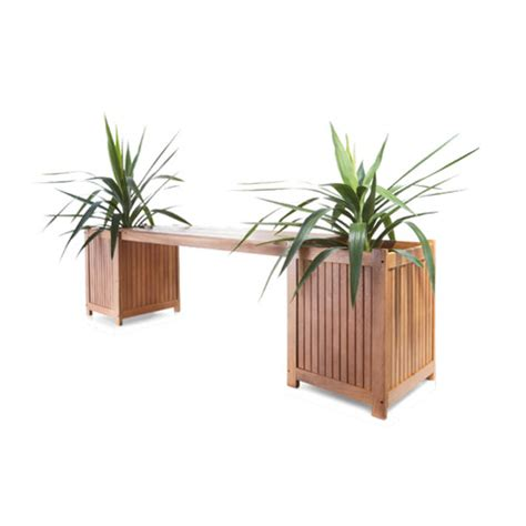 planter bench seat oasis bench seat with planter boxes kmart