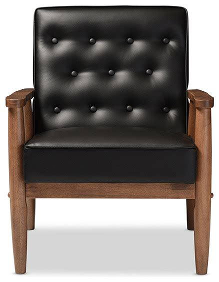 Retro Accent Chair Sorrento Retro Upholstered Wooden Lounge Chair Midcentury Armchairs And Accent Chairs By