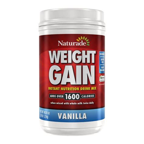 b protein powder for weight gain naturade weight gain powder vanilla 2 9 lb jet