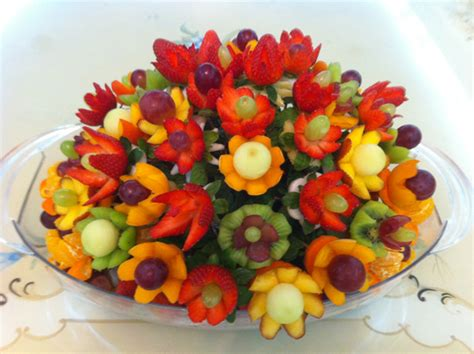 Flower Arrangement Techniques by How To Make Fruit Arrangements With Nita S Lessons