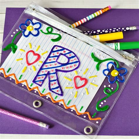 cara membuat zipper pencil case back to school ideas tips what meegan makes