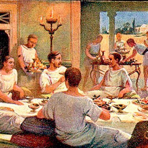 banchetti romani antica roma banchetti e abbuffate antica roma