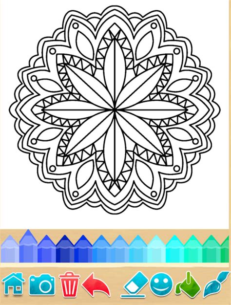 mandala coloring pages app mandala coloring app pages from play