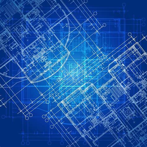 architectural blueprints for blueprint vector architectural background part