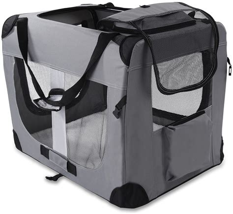 soft sided dog house dog crate soft sided pet carrier foldable training kennel portable cage house xl ebay
