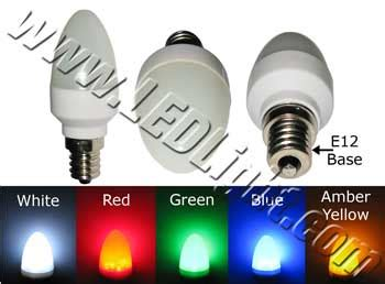 c7 12 led light bulb e12 120v ac household led lights