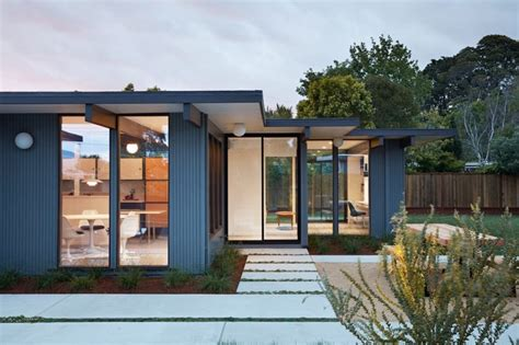 eichler hosue classic eichler gets a tasteful renovation and expansion