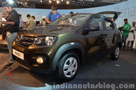 renault green renault kwid green india unveiling indian autos blog