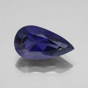 Purplish Blue Iolite 6 45ct 3 5ct violet blue iolite gem from madagascar and