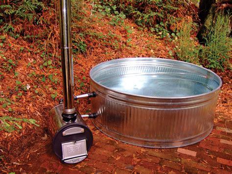 wood heated bathtub chofu wood fired hot tub make