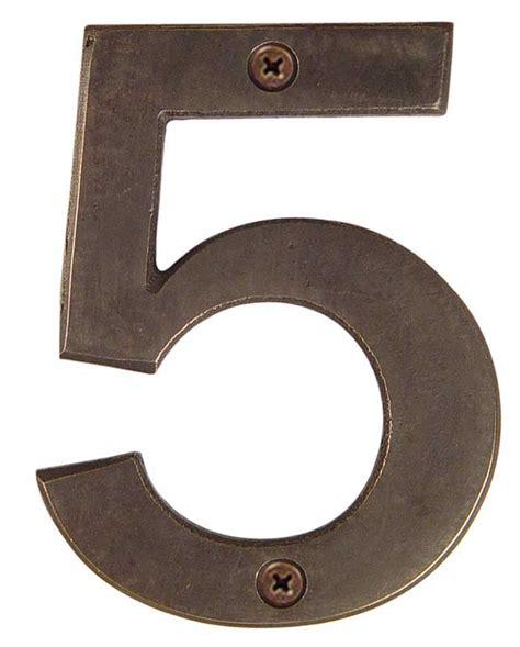 address numbers emtek bronze 6 inch quot 5 quot address number shop home decor