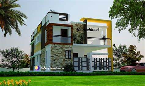 modern contemporary tamilnadu home design ideas by ns