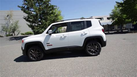 jeep renegade white 2016 jeep renegade 75th anniversary alpine white