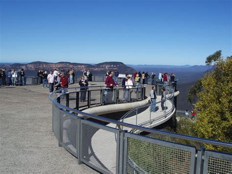 Echo Point Lookout   Away We Go Tours