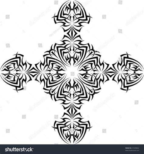tattoo cross vector tribal cross vector www imgkid com the image kid has it