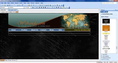 membuat website film cara membuat website dengan microsoft office frontpage