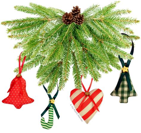 sewing patterns christmas tree decorations sewing pattern 6 x fabric christmas tree decorations