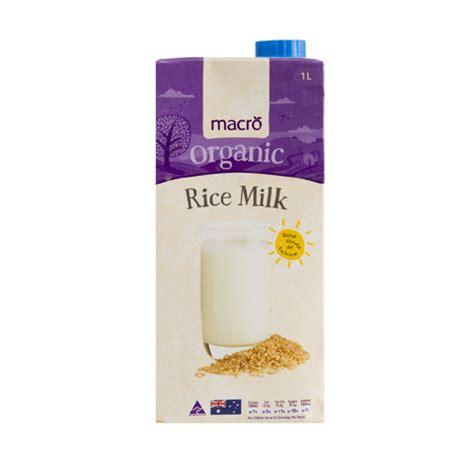 Rice Milk Shop buy macro organic rice milk 1l at countdown co nz