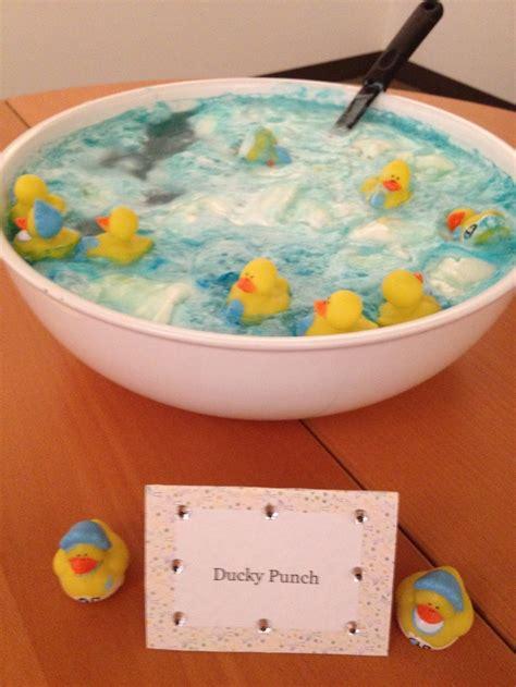 ducky bath baby shower punch ducky punch birthday