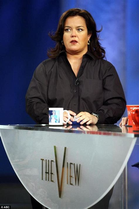 Rosie Odonnell Quit The View Early by Rosie Perez Quits The View And Breaks In Tears Saying