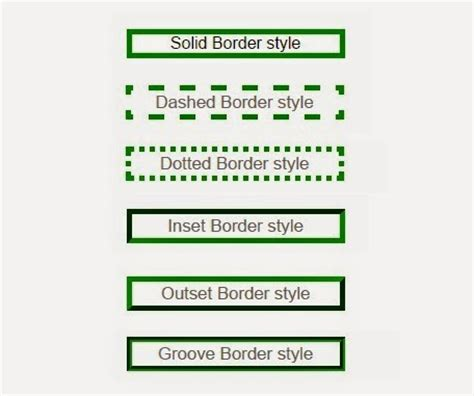 css div border css border style web knowledge free