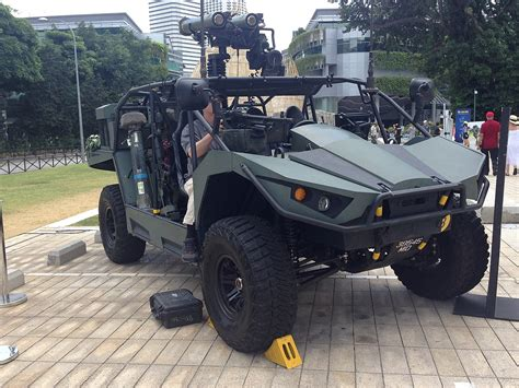 Spider Strike Vehicle light strike vehicle singapore