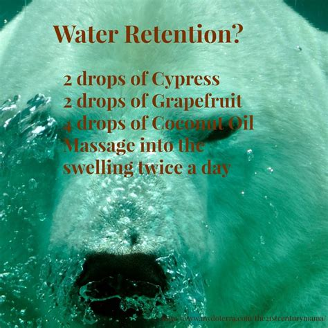 Detox Bath For Water Retention by 17 Best Ideas About Water Retention On Water