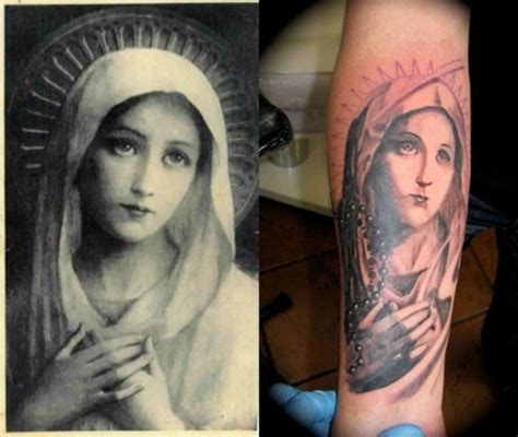 blessed mother tattoo designs tattoos