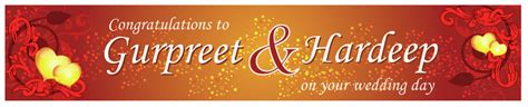 Wedding Banner India by Indian Marriage Banners Www Pixshark Images
