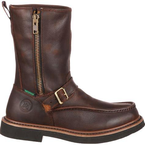 wellington work boots for side zip wellington waterproof work boots g4124