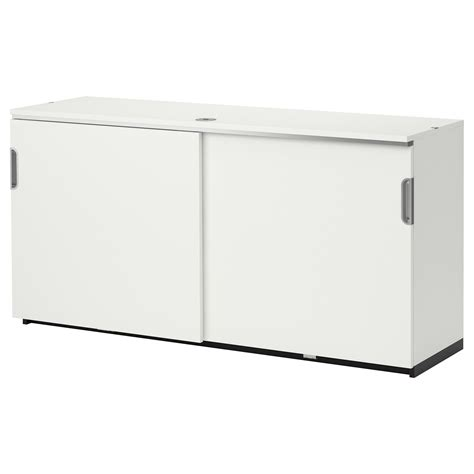 White Sliding Door Cabinet Galant Cabinet With Sliding Doors White Ikea Flanking Drawer Unit As Credenza Suzanne